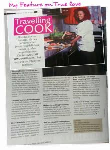 Sheena, featured in true love magazine September 2014 issue