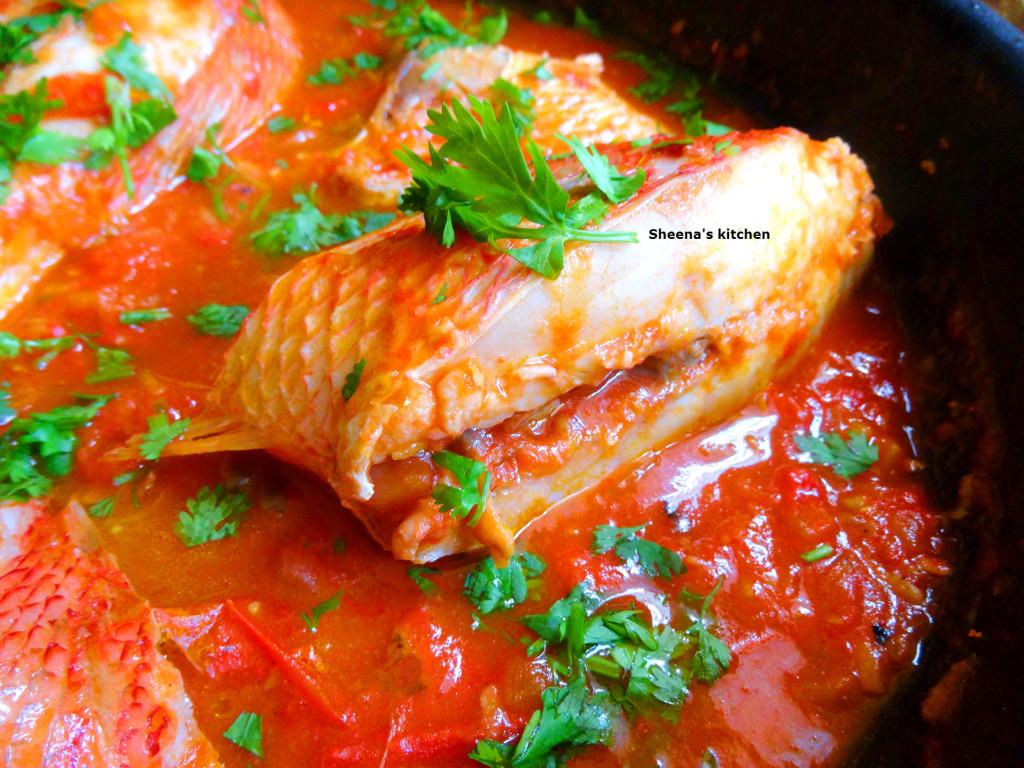Fish stew-Kenyan style