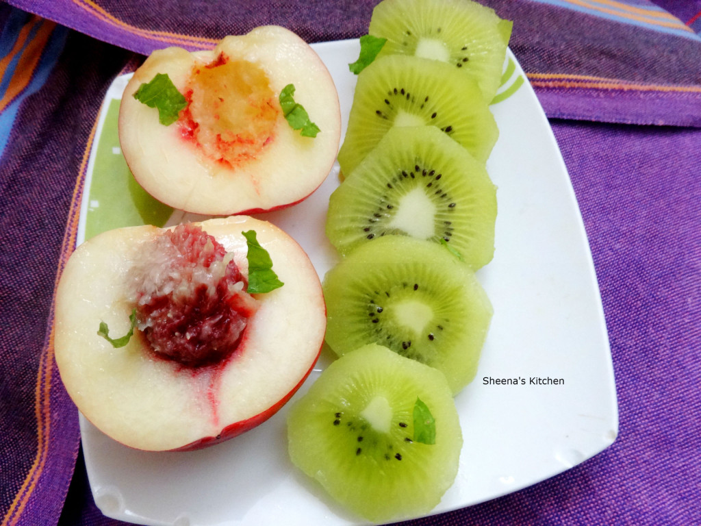 Fruits_nectarine_kiwi