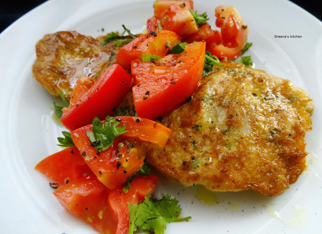Fish fillet Milanese