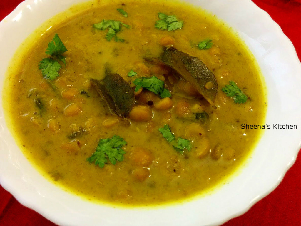 Lentils daal curry 1