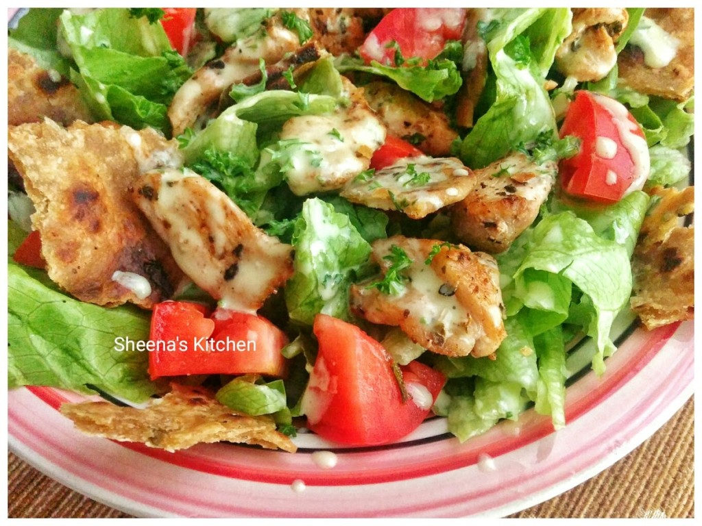 chicken salad closeup