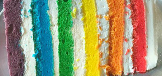 rainbow cake edit