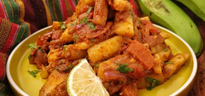 matoke masala chips_sheenas kitchen