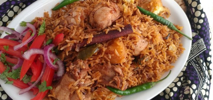 Swahili Chicken pilau recipe with sweet potatoes_sheenas kitchen