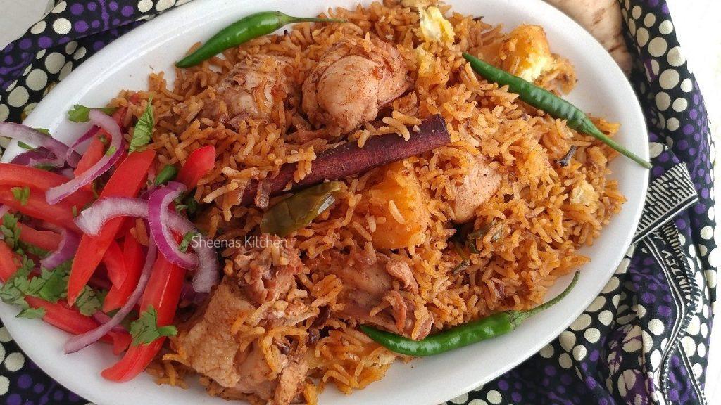 Chicken Pilau recipe with sweet potatoes_ Sheenas Kitchen