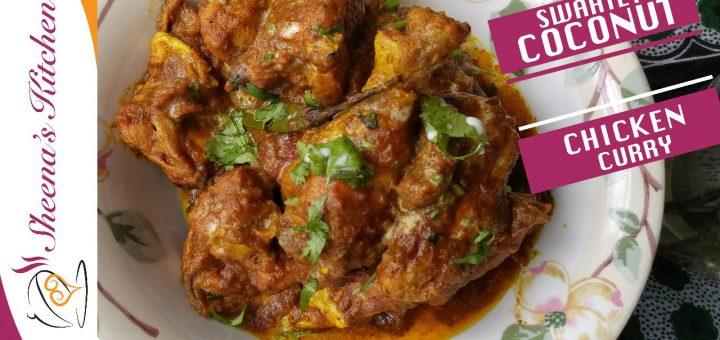 Coconut chicken curry_Sheenas Kitchen