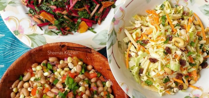 Salads_Sheenas Kitchen